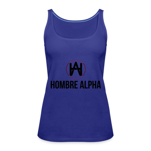 Hombre Alpha Logo - Camiseta de tirantes premium mujer