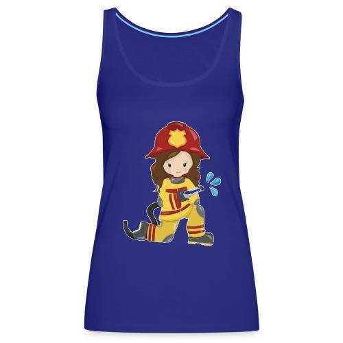 Feuerwehrfrau - Frauen Premium Tank Top