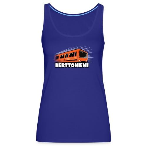 09-HERTTONIEMI METRO - Itä-Helsinki - Naisten premium hihaton toppi