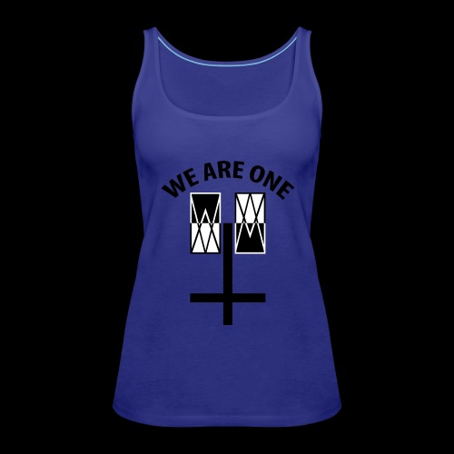 WE ARE ONE x CROSS - Vrouwen Premium tank top