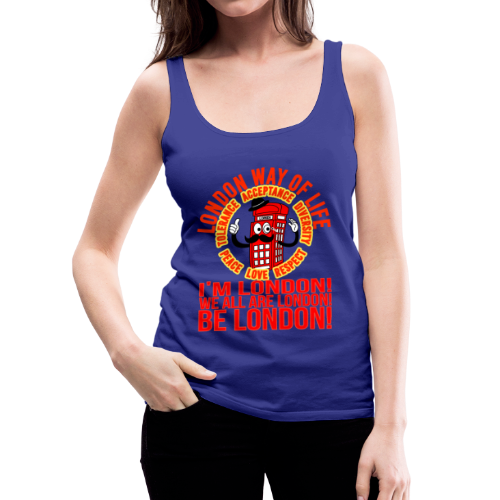 Londi London Mascot Design No 10 - Women's Premium Tank Top