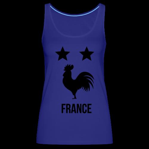 FRANCE 2018 - Débardeur Premium Femme