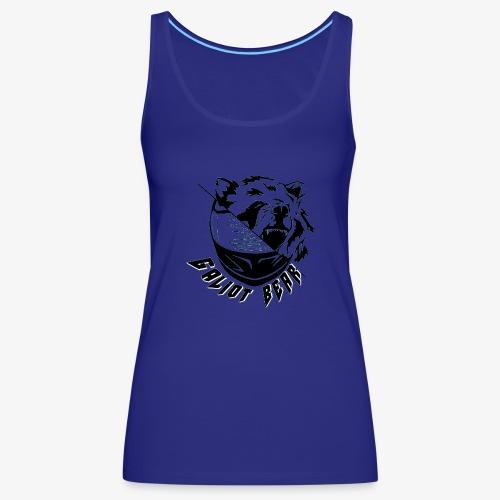 Galiot Bear Logo schwarz - Frauen Premium Tank Top