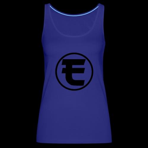 Evanus T-Shirt Wit - Vrouwen Premium tank top