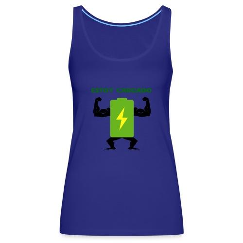 Batería cargada - Camiseta de tirantes premium mujer