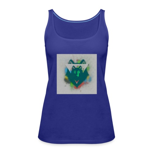 DREIECK COLOR WOLF - Frauen Premium Tank Top