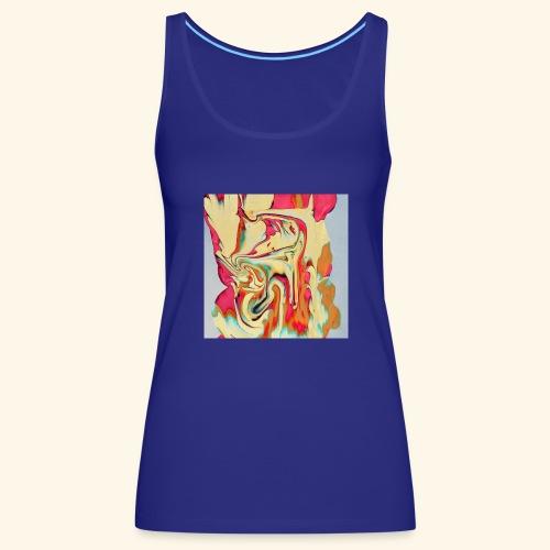 Psychedelic Art 3 - Women's Premium Tank Top