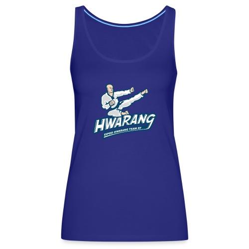 Hwarang logo v2 - Naisten premium hihaton toppi
