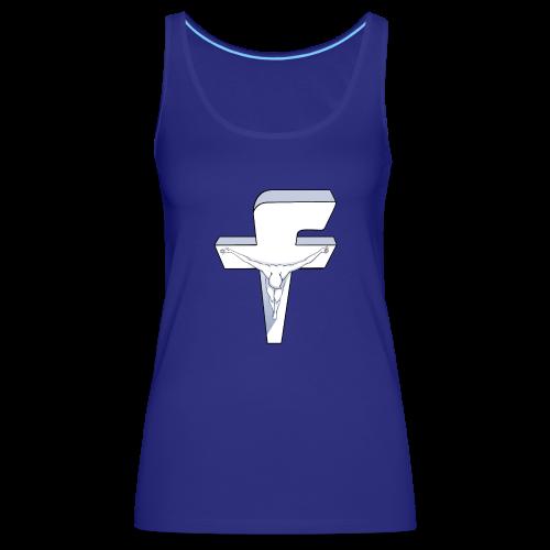 Facebook Crucifixion - Débardeur Premium Femme
