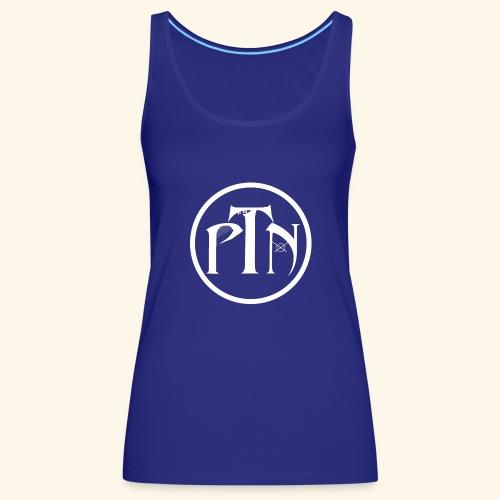 PTN-Music Logo Weiss - Frauen Premium Tank Top