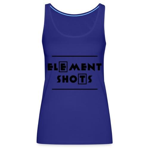 Element Shots Logo - Frauen Premium Tank Top