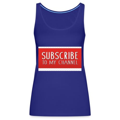 sub to galactic madman - Women's Premium Tank Top