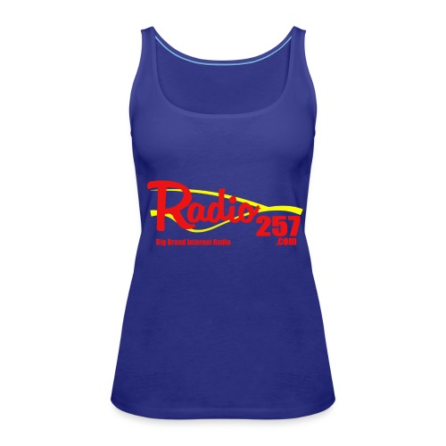 radio257 banner logo web generic - Women's Premium Tank Top