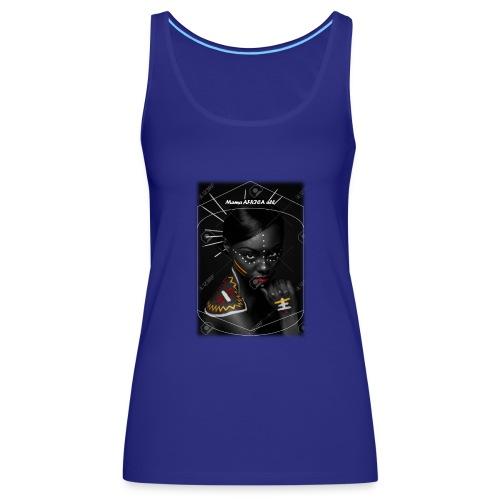 Imagen4 - Camiseta de tirantes premium mujer