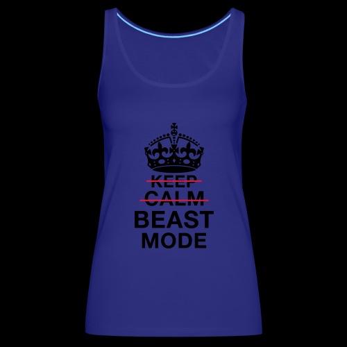 KeepCalm BeastMode - Frauen Premium Tank Top