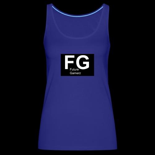FG lofo boxed black boxed - Women's Premium Tank Top