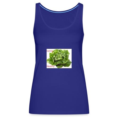 salat eating helthy - Frauen Premium Tank Top