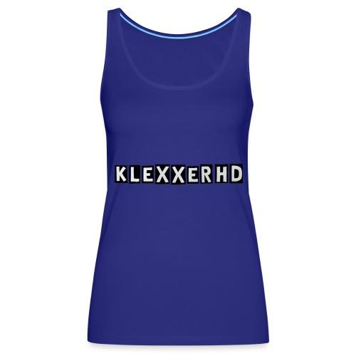 Klexxer Sportkleidung - Frauen Premium Tank Top