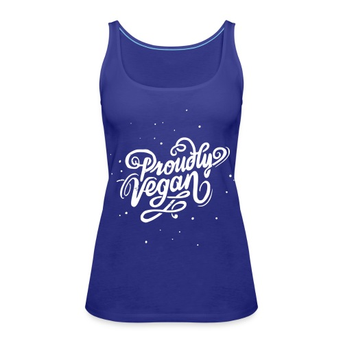 Proudly Vegan Vintage White - Frauen Premium Tank Top