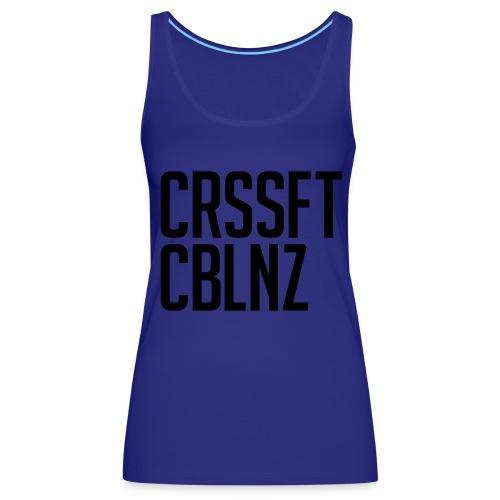 CRSSFT CBLNZ - Frauen Premium Tank Top
