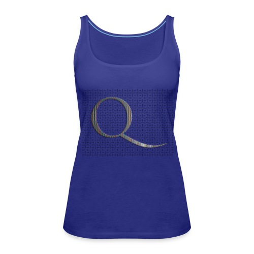 Q and Qanon - Women's Premium Tank Top