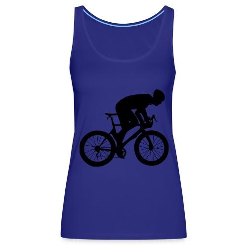 Fahrradfahrer - Frauen Premium Tank Top