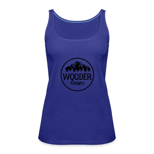 Wooder Design - Frauen Premium Tank Top