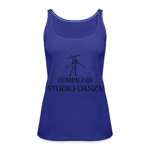 Studio Danza - Canotta premium da donna
