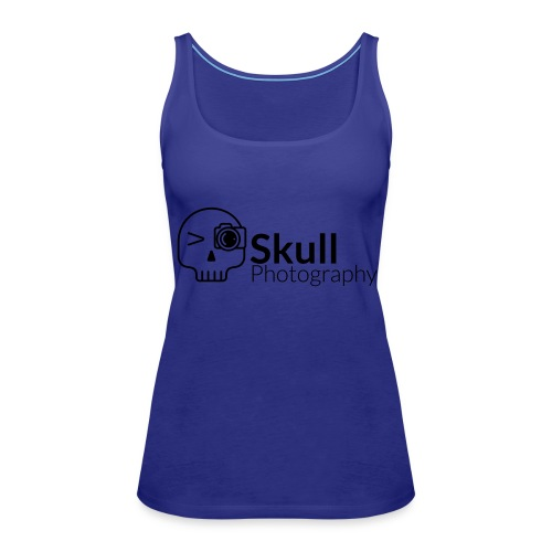 Skull_Photography_Logo_black - Frauen Premium Tank Top