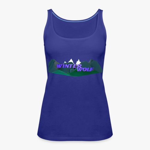 WINTERWOLF Season IV logo - Vrouwen Premium tank top