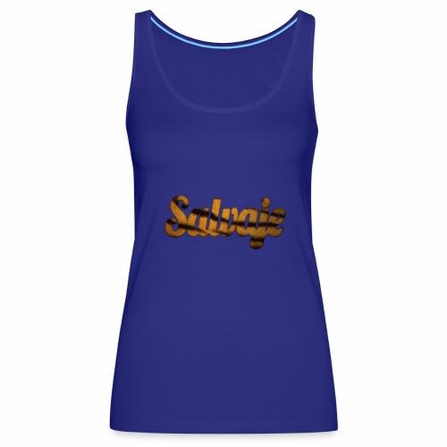 Modo salvaje - Camiseta de tirantes premium mujer