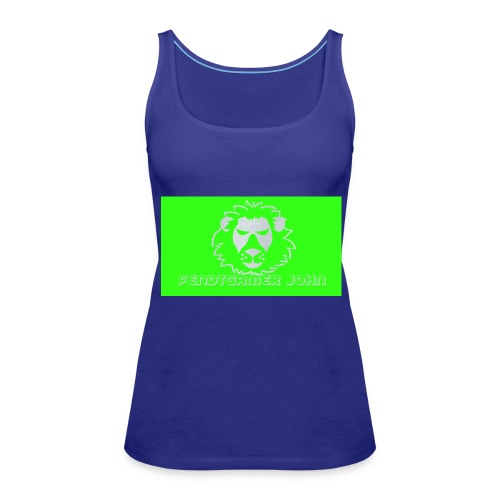 youtube merchandise - Frauen Premium Tank Top