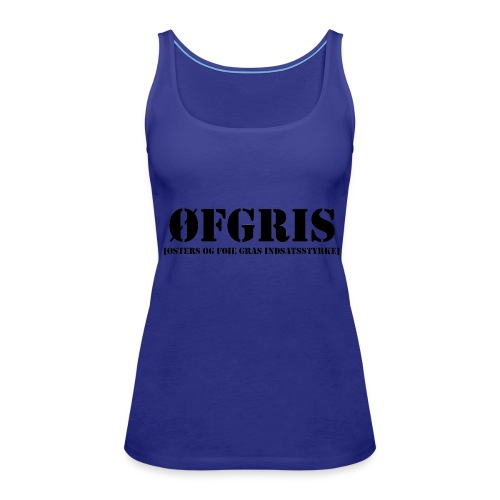 T-shirt - ØFGRIS - Dame Premium tanktop