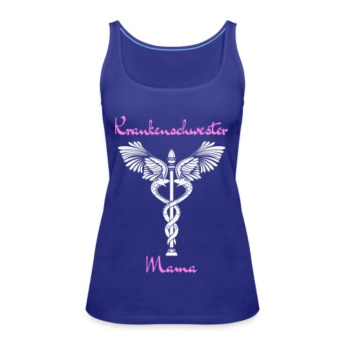 Krankenschwester Mama - Frauen Premium Tank Top