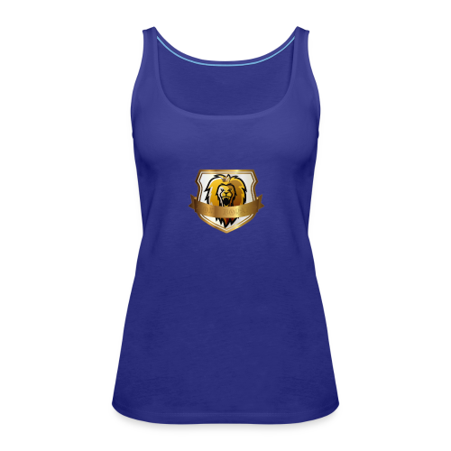 THE ROYAL LION - Women's Premium Tank Top
