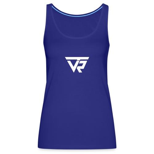 TVR Logo weiss - Frauen Premium Tank Top