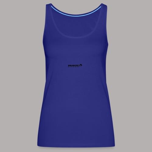 unlimited - Camiseta de tirantes premium mujer
