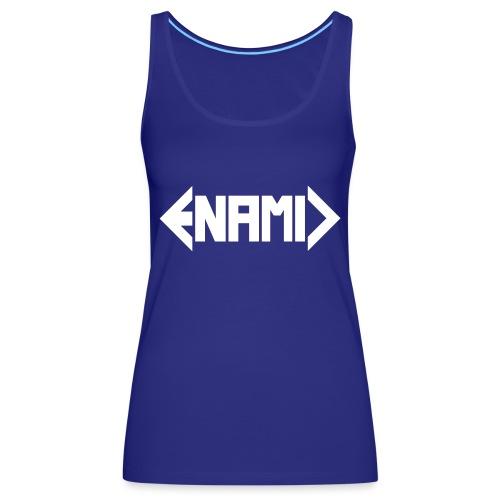 ENAMIC Logo weiß - Frauen Premium Tank Top