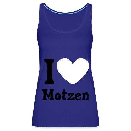 I Heart Motzen - Frauen Premium Tank Top