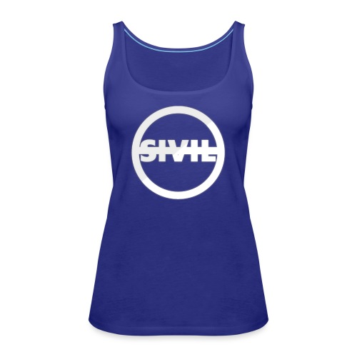 sivil logo - Women's Premium Tank Top