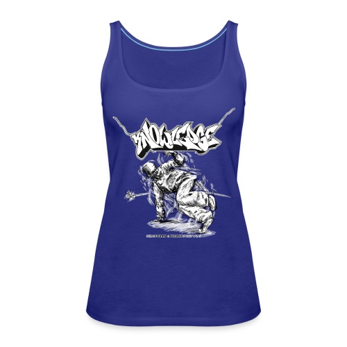 Knowledge Shirt5 - Frauen Premium Tank Top