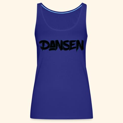 DansenLogo - Premiumtanktopp dam