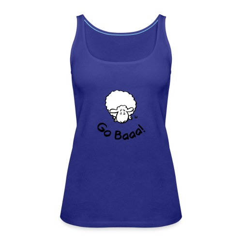 Sheep Go Baaa! - Vrouwen Premium tank top