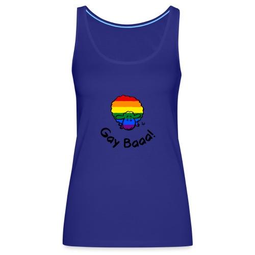 Homosexuell Baaa! Regenbogen-Stolz-Schafe - Frauen Premium Tank Top