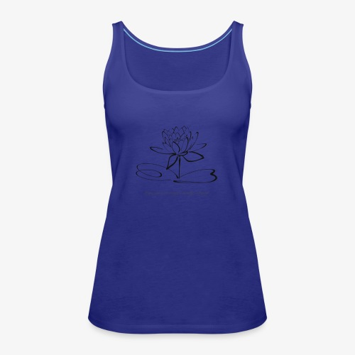 yoga is my daily drug - Frauen Premium Tank Top