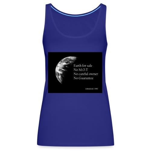 earth for sale - Women's Premium Tank Top