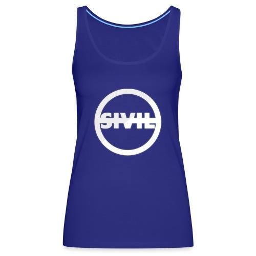 sivil logo - Women's Premium Tank Top