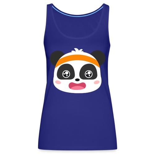 bebe panda - Camiseta de tirantes premium mujer