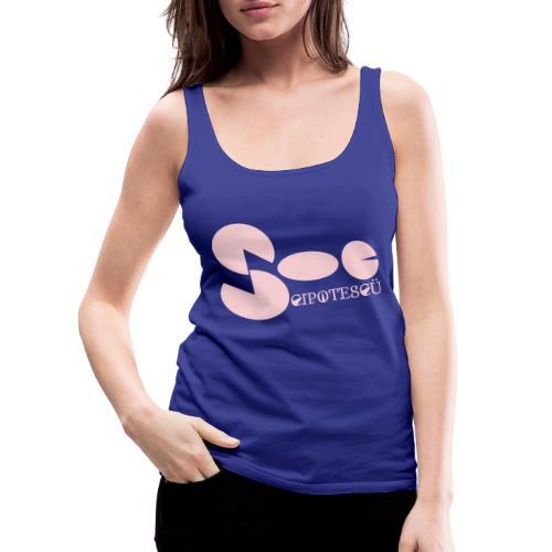 Cipotescü Classic - Camiseta de tirantes premium mujer