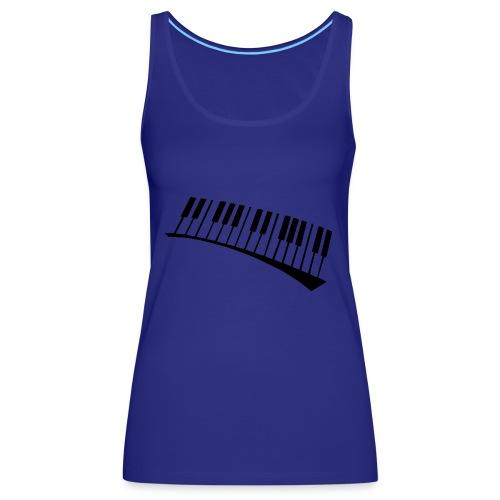 Piano - Camiseta de tirantes premium mujer